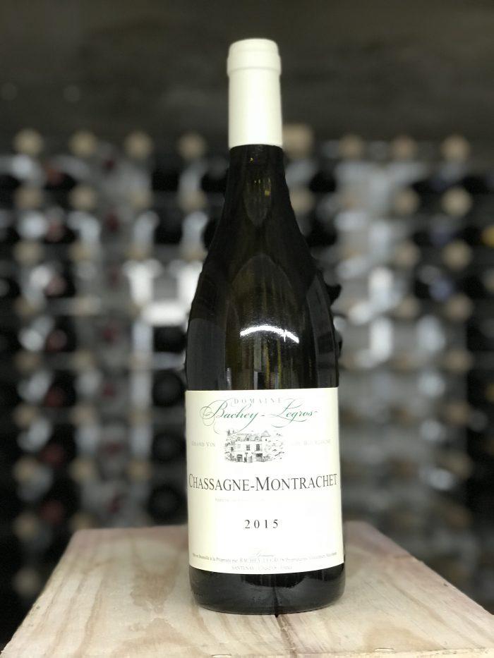 Chassagne Montrachet Blanc Dom. Bachey Legros