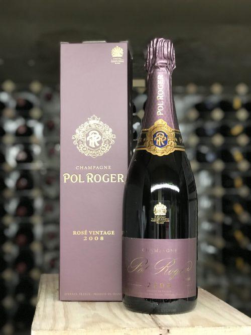 Pol Roger Rose vintage 2008